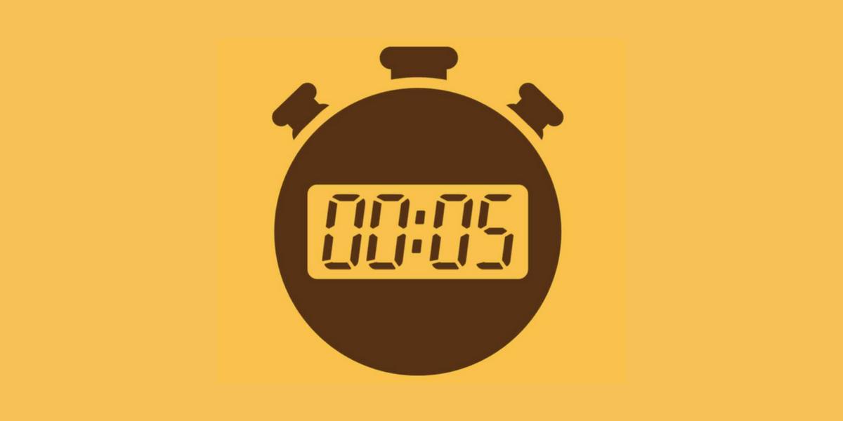 regla de los 5 segundos para cambiar la vida