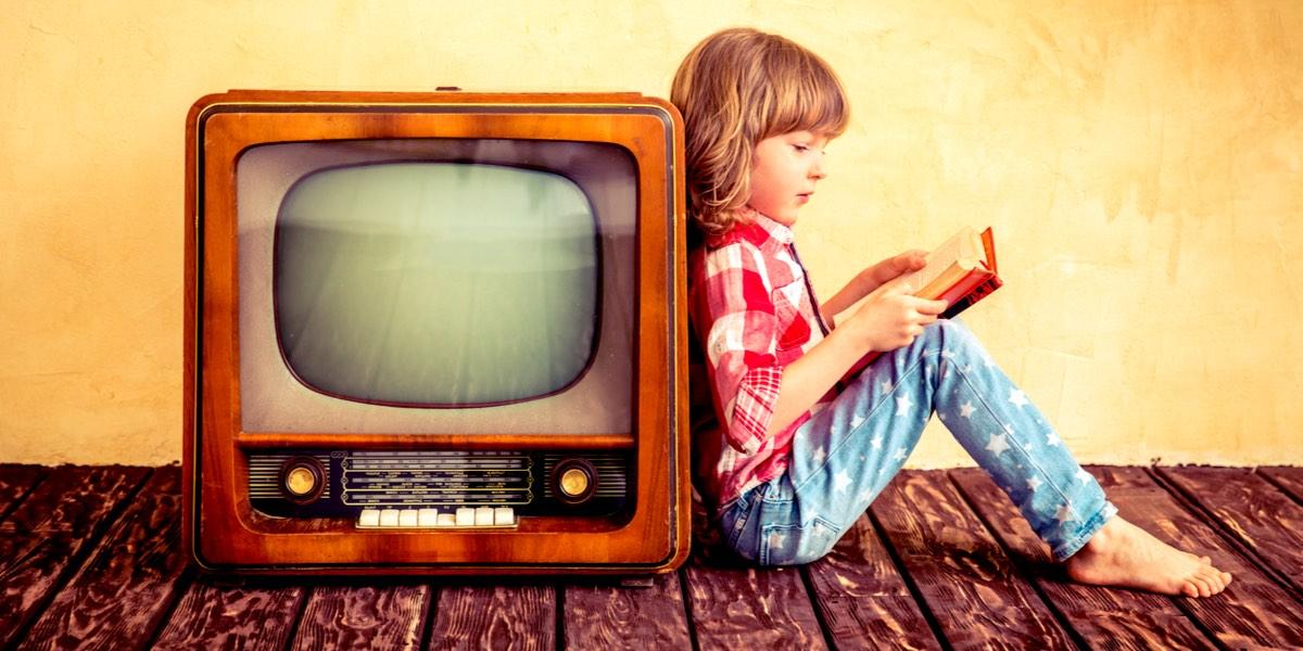 habito de la lectura televisor