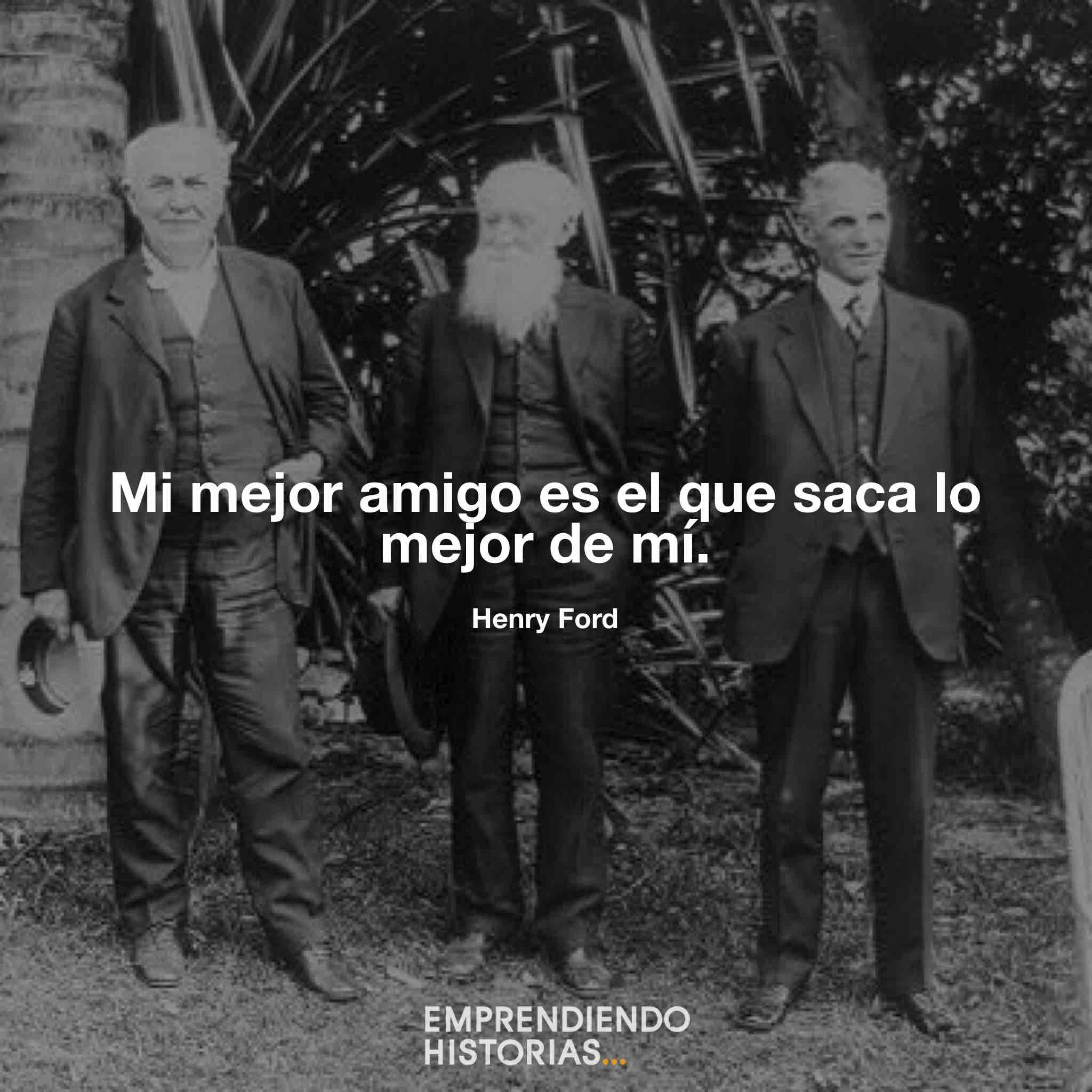 Frases de Henry Ford amistad